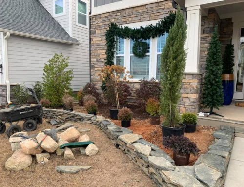 Stack Stone Curbing -Outdoor Living Tip of the Day