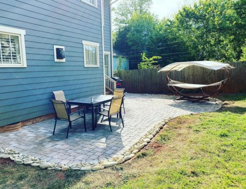 Paver Patio and Drainage ⛈ – Outdoor Living Tip of the Day