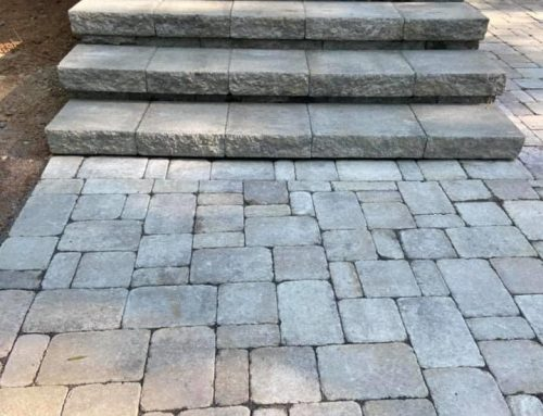 Paver Patio with Landing and Steps – Outdoor Living Tip of the Day