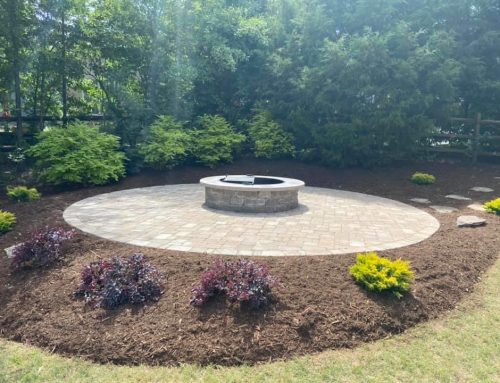 Paver Patio Island with a Built-In Fire Pit – Outdoor Living Tip of the Day