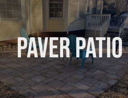 Paver Patio – Outdoor Living Tip of the Day